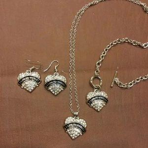 NEW I Love My Harley Jewelry Set